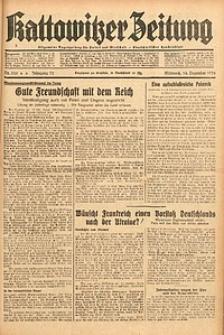 Kattowitzer Zeitung, 1938, Jg. 70, Nr. 325