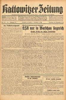Kattowitzer Zeitung, 1938, Jg. 70, Nr. 331