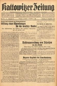 Kattowitzer Zeitung, 1938, Jg. 70, Nr. 336