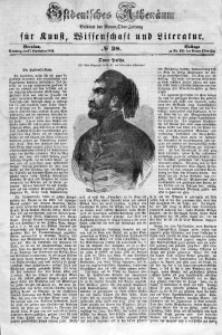 Ostdeutsches Athenäum, 1854, No 38