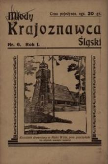 Młody Krajoznawca Śląski, 1934, R. 1, nr 6