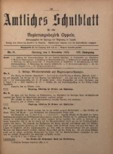 Amtliches Schulblatt für den Regirungsbezirk Oppeln, 1919, Jg. 7, Nr. 21