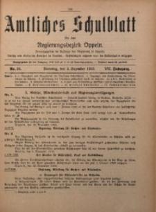 Amtliches Schulblatt für den Regirungsbezirk Oppeln, 1919, Jg. 7, Nr. 23