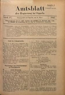 Amtsblatt der Regierung in Oppeln für 1942, Bd. 127, St. 13