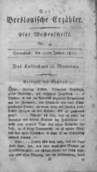 Der Breslauische Erzähler, 1800, Jg. 1, No. 4