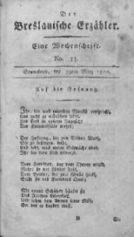 Der Breslauische Erzähler, 1800, Jg. 1, No. 13