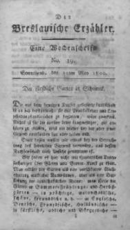 Der Breslauische Erzähler, 1800, Jg. 1, No. 19