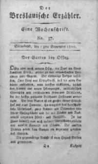 Der Breslauische Erzähler, 1800, Jg. 1, No. 37
