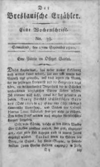 Der Breslauische Erzähler, 1800, Jg. 1, No. 39