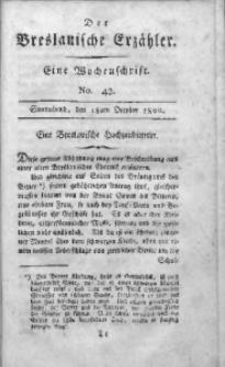 Der Breslauische Erzähler, 1800, Jg. 1, No. 42