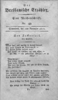 Der Breslauische Erzähler, 1800, Jg. 1, No. 44