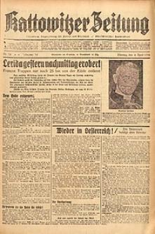 Kattowitzer Zeitung, 1938, Jg. 70, Nr. 78