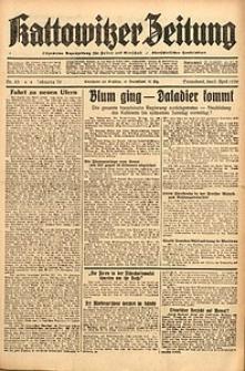 Kattowitzer Zeitung, 1938, Jg. 70, Nr. 83