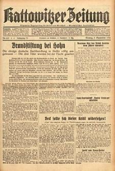 Kattowitzer Zeitung, 1938, Jg. 70, Nr. 225