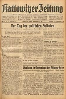 Kattowitzer Zeitung, 1938, Jg. 70, Nr. 232