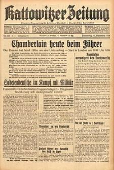 Kattowitzer Zeitung, 1938, Jg. 70, Nr. 235