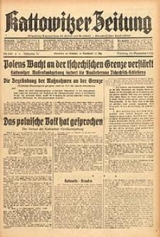 Kattowitzer Zeitung, 1938, Jg. 70, Nr. 240