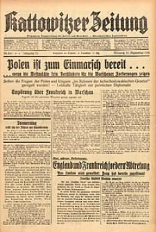 Kattowitzer Zeitung, 1938, Jg. 70, Nr. 241