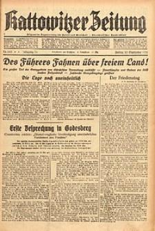 Kattowitzer Zeitung, 1938, Jg. 70, Nr. 243