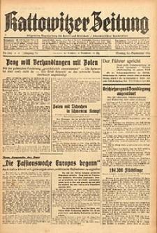 Kattowitzer Zeitung, 1938, Jg. 70, Nr. 246