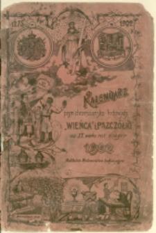 Kalendarz Pism Chrześcijańsko-Ludowych Wieńca i Pszczółki na rok 1902