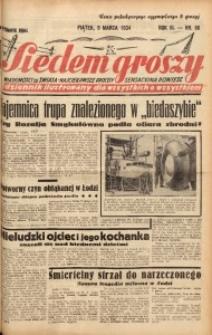 Siedem Groszy, 1934, R. 3, nr 66. - Wyd. DEGC