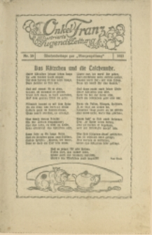 Onkel Franz, 1921, Nry 29, 34
