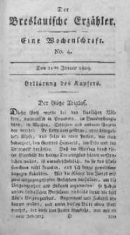 Der Breslauische Erzähler, 1809, Jg. 10, No. 4