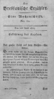 Der Breslauische Erzähler, 1809, Jg. 10, No. 14