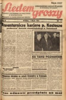 Siedem Groszy, 1934, R. 3, nr 117. - Wyd. DEGCF