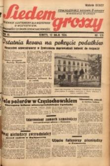 Siedem Groszy, 1934, R. 3, nr 128. - Wyd. DEGCF