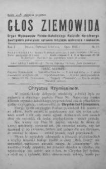 Głos Ziemowida, 1925, R. 1, nr 15