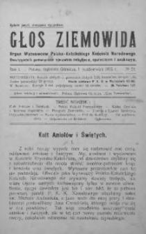 Głos Ziemowida, 1925, R. 1, nr 21
