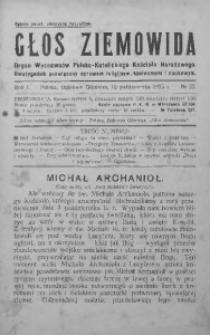 Głos Ziemowida, 1925, R. 1, nr 22