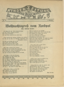 Kinder-Zeitung vom Onkel Max, 1925, Nry 12, 15