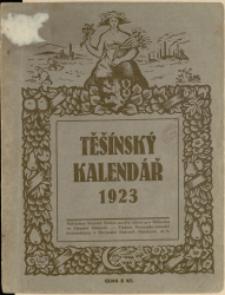 Těšínský kalendář : na obyčejný rok 1923