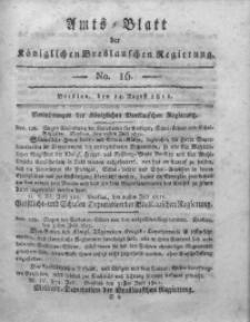Amts-Blatt der Königlichen Breslauschen Regierung, 1811, Bd. 1, No 16