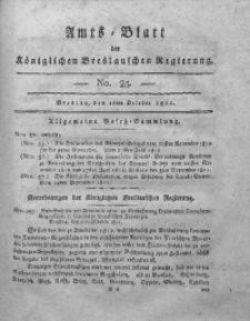 Amts-Blatt der Königlichen Breslauschen Regierung, 1811, Bd. 1, No 25