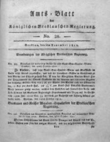 Amts-Blatt der Königlichen Breslauschen Regierung, 1811, Bd. 1, No 28