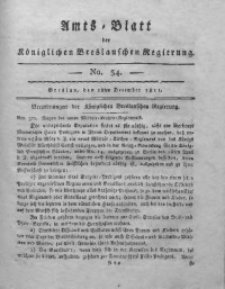 Amts-Blatt der Königlichen Breslauschen Regierung, 1811, Bd. 1, No 34