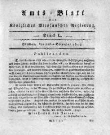 Amts-Blatt der Königlichen Breslauschen Regierung, 1815, Bd. 5, St. 50