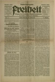 Freiheit, 1920, Nry 1/2, 11, 34, 50, 54, 60, 63