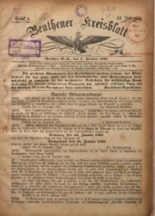 Beuthener Kreisblatt, 1895, Jg. 53, St. 1