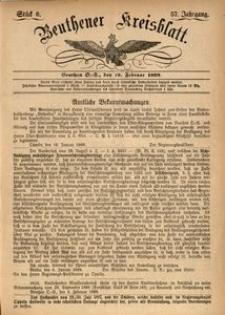 Beuthener Kreisblatt, 1899, Jg. 57, St. 6