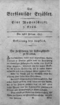 Der Breslauische Erzähler, 1807, Jg. 8, No. 7