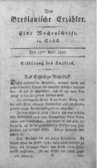 Der Breslauische Erzähler, 1807, Jg. 8, No. 14