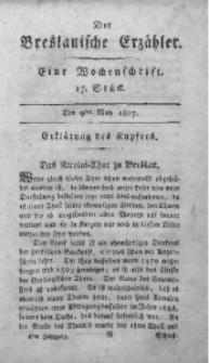 Der Breslauische Erzähler, 1807, Jg. 8, No. 17
