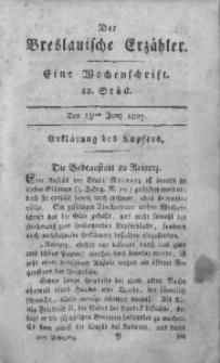 Der Breslauische Erzähler, 1807, Jg. 8, No. 22