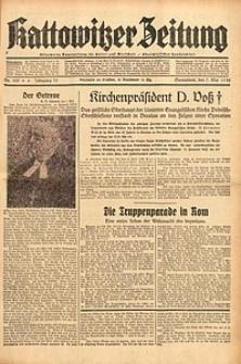 Kattowitzer Zeitung, 1938, Jg. 70, Nr. 109