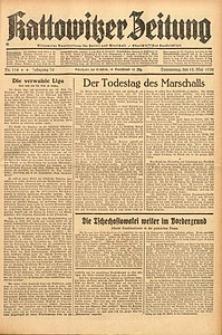 Kattowitzer Zeitung, 1938, Jg. 70, Nr. 114